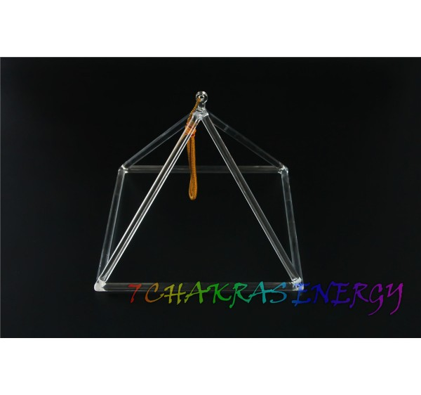 crystal pyramid 10 inch with mallet