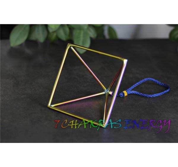 Cosmic rays crystal singing pyramid 12 inch